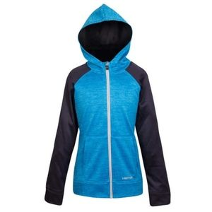 Head Youth Full Zip Hoodie Blue